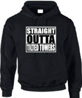STRAIGHT OUTTA TILTED TOWERS HOODIE - INSPIRED BY FORTNITE BATTLE ROYALE